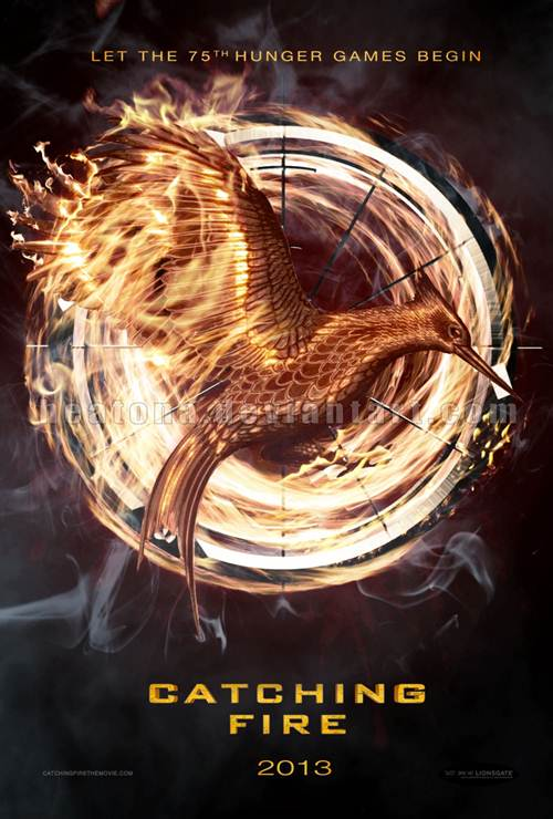 catching fire plakat